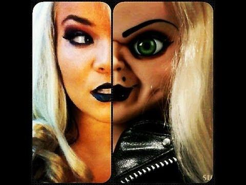 Bride of Chucky Makeup Tutorial - YouTube