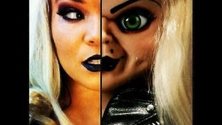 Bride of Chucky Makeup Tutorial