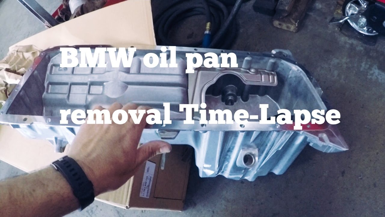 BMW e46 Oil Pan Removal & Install Time-Lapse