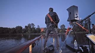 Danny-Priebe-Band auf der Elbe