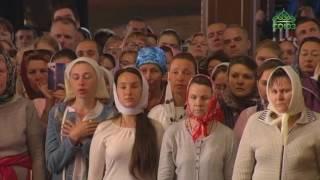 Предстоятель Русской Церкви совершил богослужение в Валаамском монастыре в честь основателей обители
