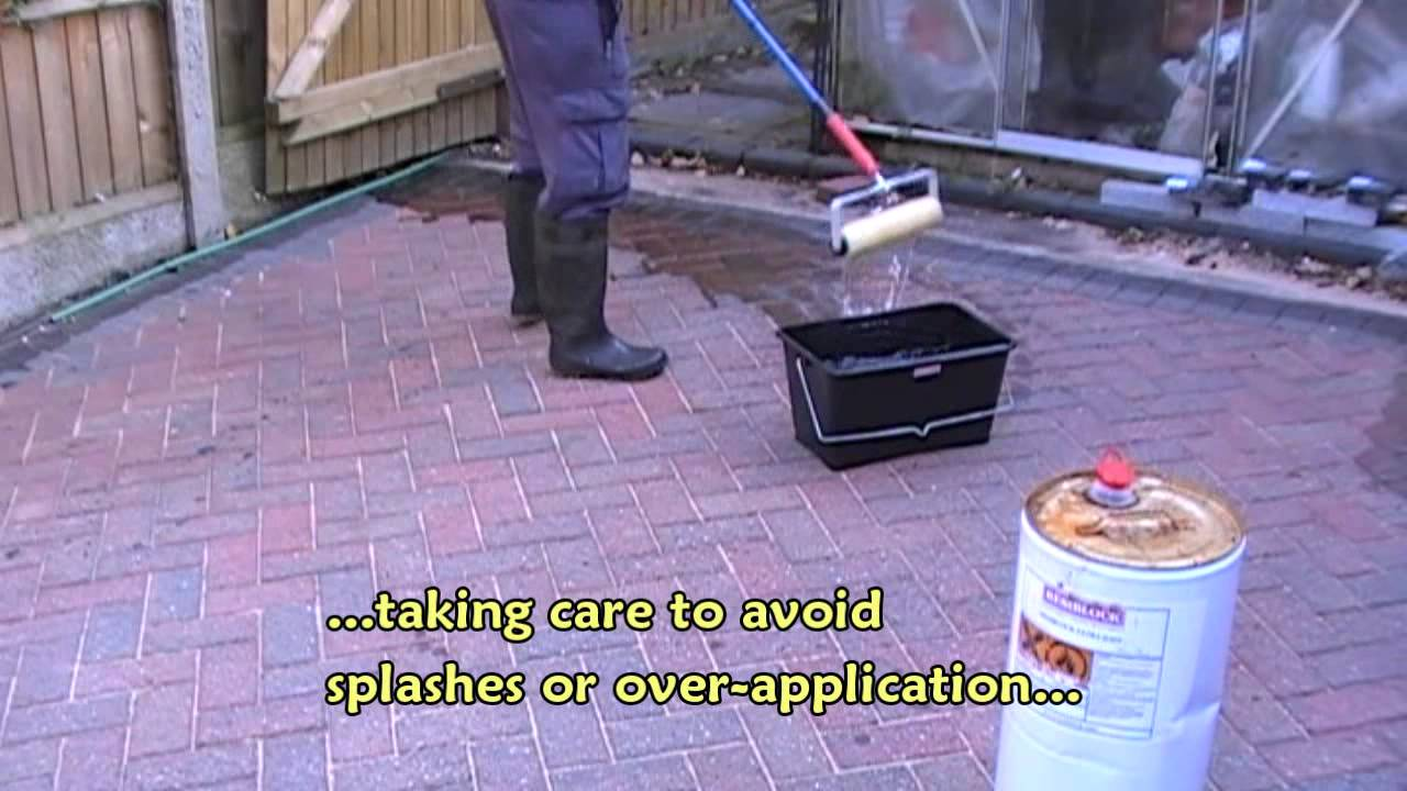 Cost of cleaning and sealing block paving