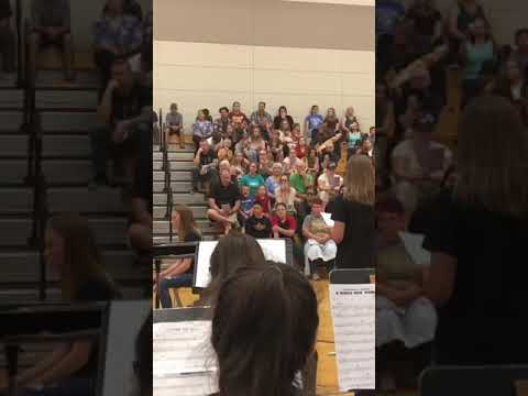 The Dalles Middle School | Freestyle Band Performance