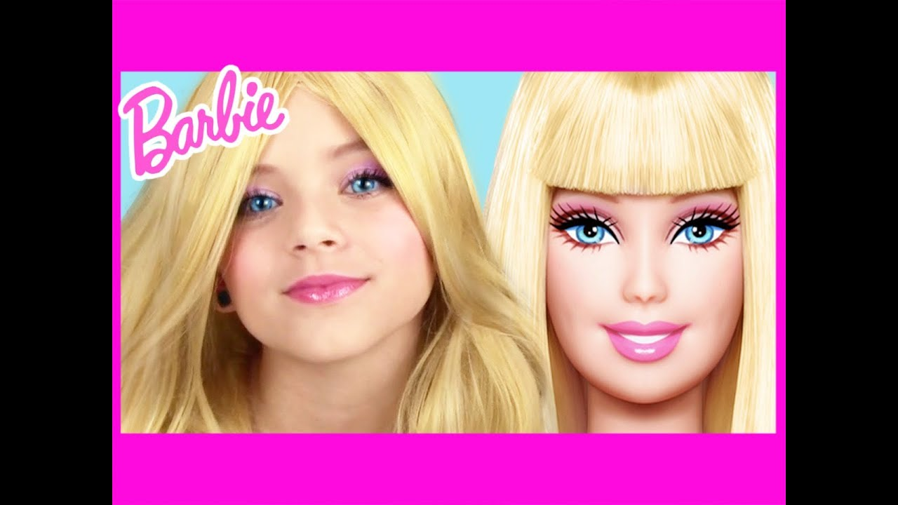 Barbie makeup tutorial kittiesmama naturesknockout collab youtube baditri Image collections