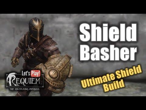 Skyrim Requiem - Shield Basher (level 20) Into Bleak Falls Barrow