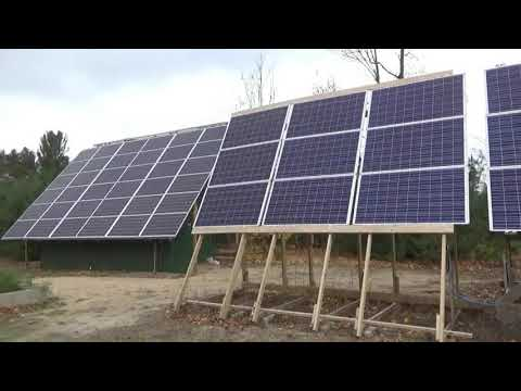 Visiting A 22KW Solar Property & We Will Be 100% Off The Grid