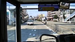 【前面展望】名鉄バスセンター~極楽~愛知学院大学【名鉄バス・名古屋高速経由】