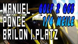 Manuel Ponce - Golf 2 G65 - Brilon-Thülen 2014 1/4 1.Platz | G65-LADER.DE