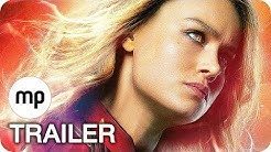 CAPTAIN MARVEL Alle Clips, Making-Of & Trailer Deutsch German (2019) Film Compilation