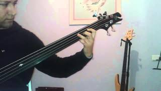 """Gambar cover Jerzy Drozd fretless Bass (36"""" inch) Miguel A. Gil"""