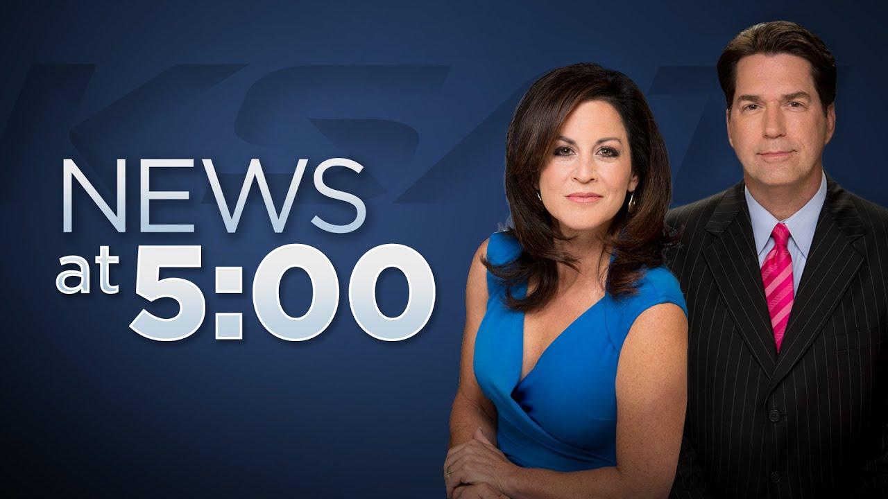 KSAT 12 5 O'Clock News : Aug 11, 2020