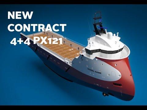 REACHED 30 'ULSTEIN PX121' PSV DESIGNS