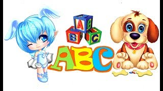 Learn abc with dancing dolls toddlers for kids learn abc phonic song and nursery rhymes