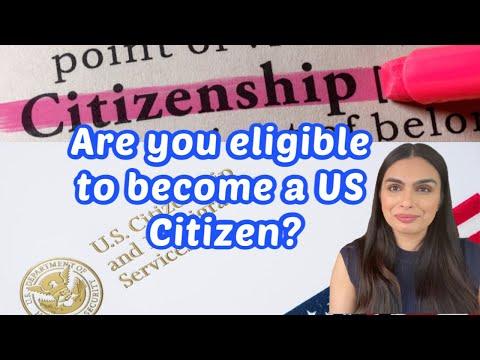 US Citizenship Requirements