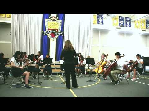 Strings Ensemble at Clairbourn School - Video 2