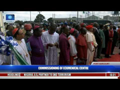 Commissioning Of Ecumenical Center Pt  1