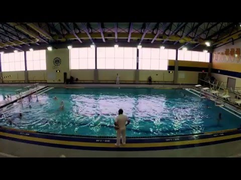 Loyola vs Lyons Men's Water Polo 4/9/2016