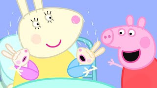 Peppa Pig English Episodes | Robbie and Rosie Rabbit!  Peppa Pig Official