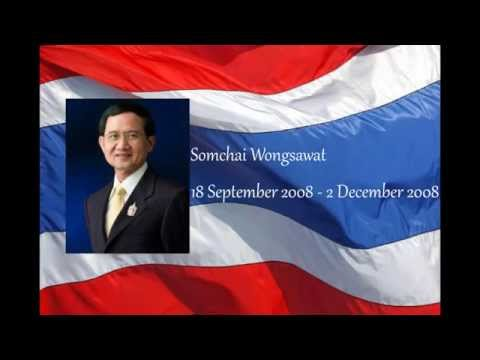 List of Prime Ministers of Thailand