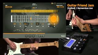 Roland Guitar Friend Jam Demo #4; Ballad