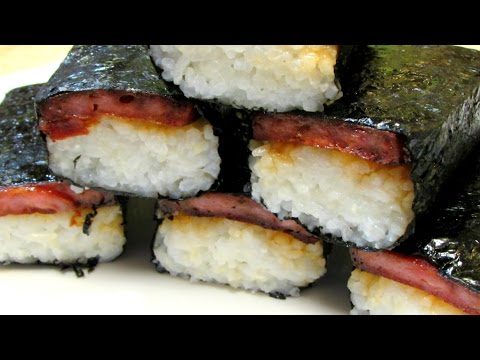 SPAM Musubi - Hawaiian Musubi - How to make SPAM Musubi