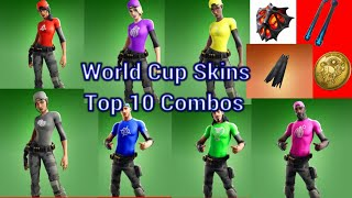 Top 10 Combos With World Cup Skins in Fortnite