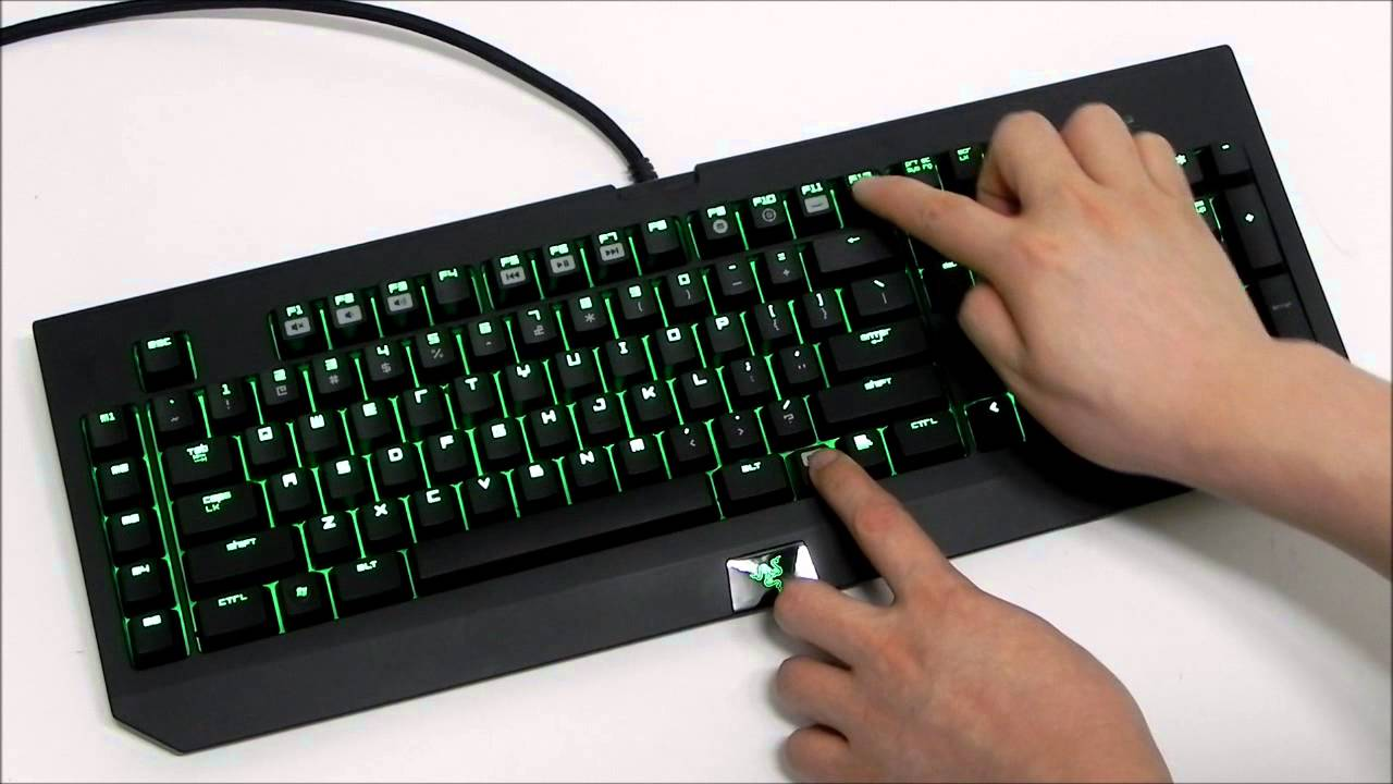 Razer BlackWidow Ultimate 2013 Backlight 20step