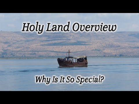 Holy Land Overview Tour: See all the Major Holy Sites of Israel in HD