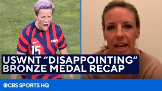 """Former USWNT Star Reacts to """"Disappointing"""" Bronze Medal Win in the Tokyo Olympics"""