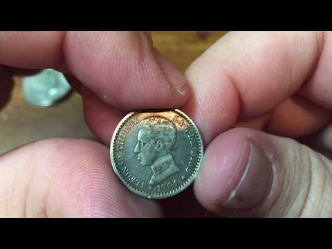 Silver Coins at Spot from Coin Shop