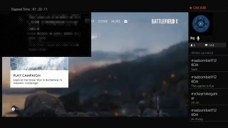 BATTLEFIELD 1 - Game Play