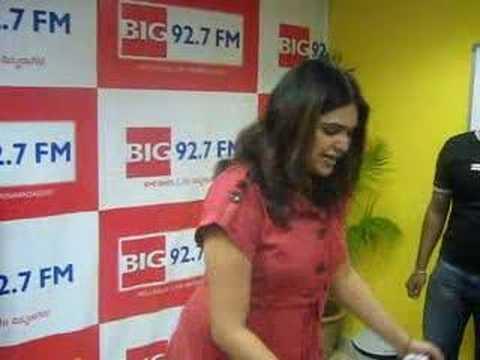 RJ Shruthi's Birthday Celebrations at BIG 92.7 FM, Bangalore