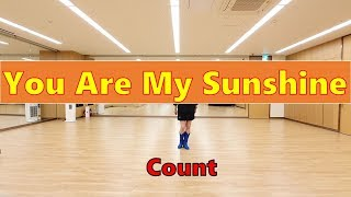 You Are My Sunshine Line Dance - Count