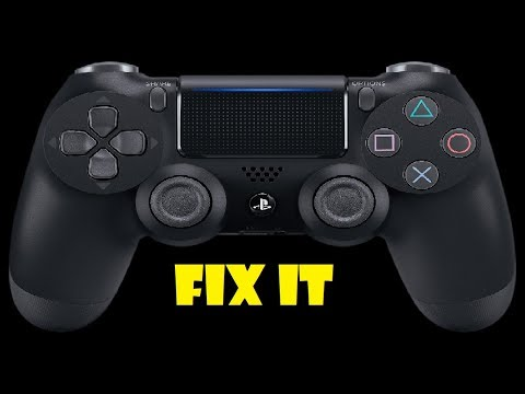 PS4 Controller- How To Fix Sticking Buttons