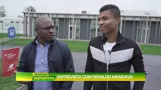 Domingo Desportivo: Entrevista com Reinildo Mandava Lille - Franc a