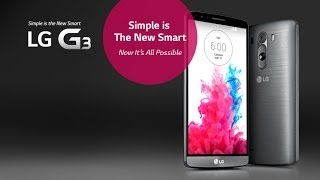 LG G3 - Simple is the new Smart