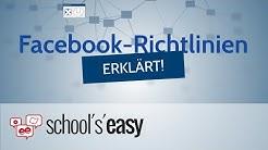 Facebook-Richtlinien ERKLÄRT!