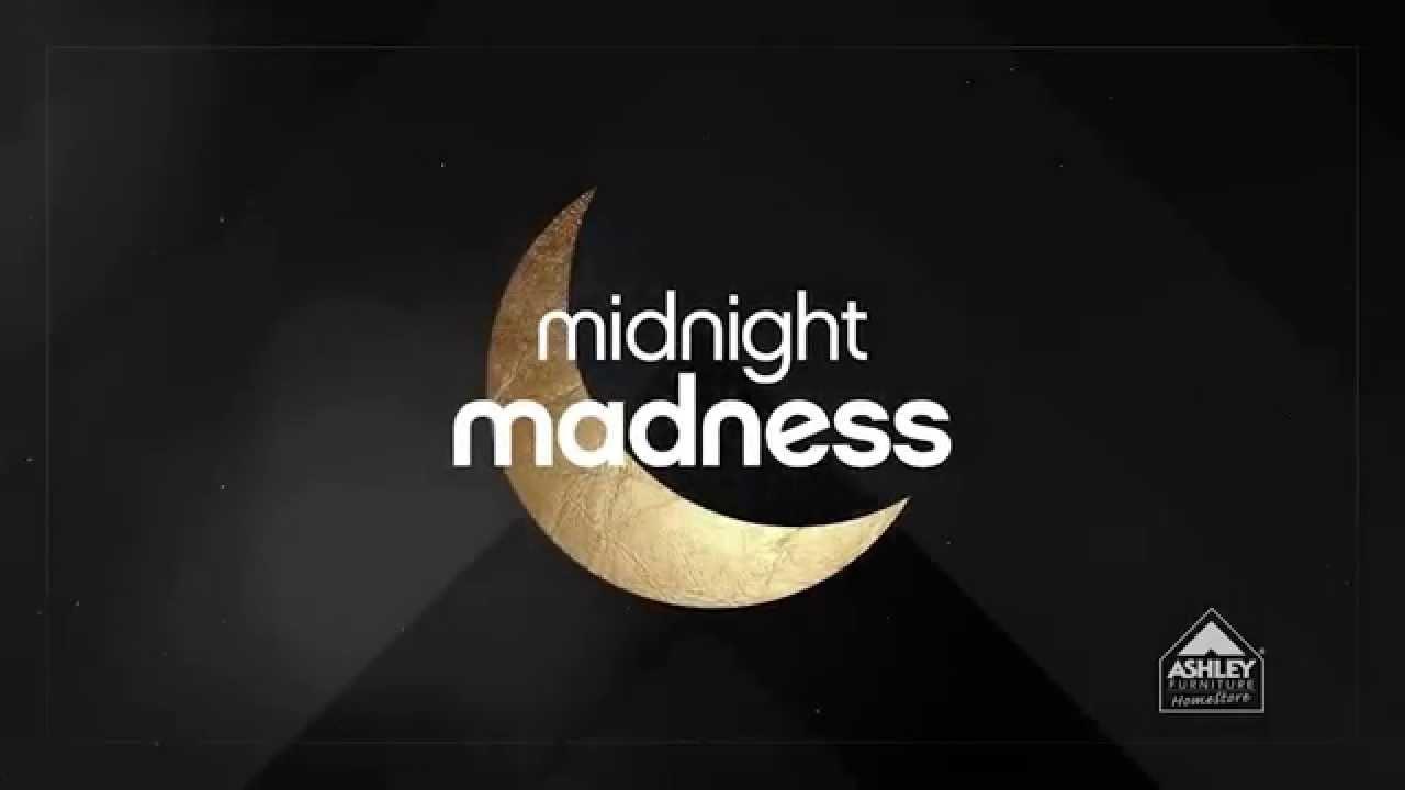 Ashley Furniture HomeStores Midnight Madness