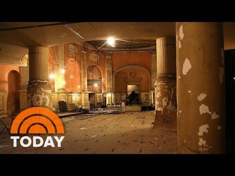 Forgotten Concert Hall Hidden Underneath Boston | TODAY