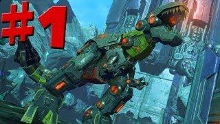 Transformers Fall Of Cybertron - Walkthrough - Part 1 - Let