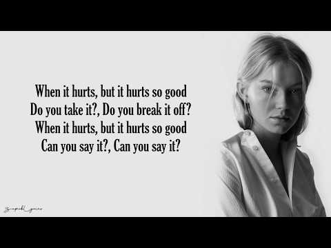 Hurts So Good - Astrid S (Lyrics)