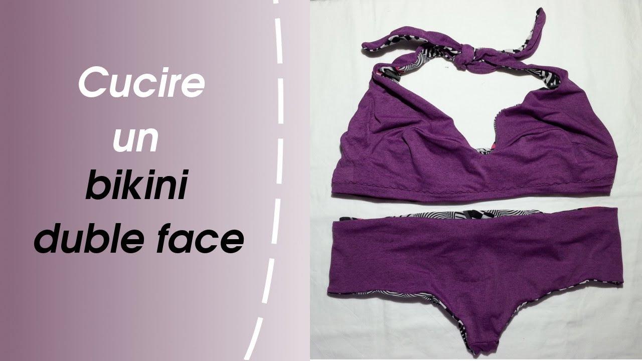 nuovo arrivo 614b0 f70e3 Come Cucire Un Bikini Double Face