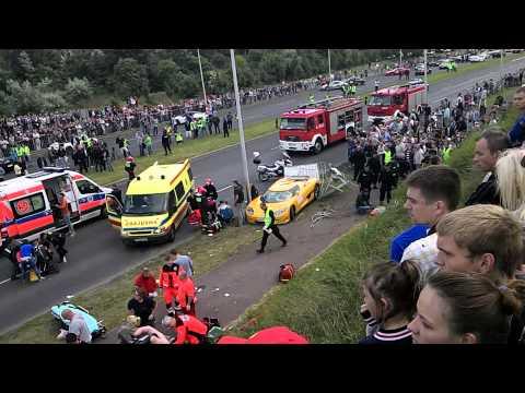 Koenigsegg ccr crashed gran Turismo Polonia 2013