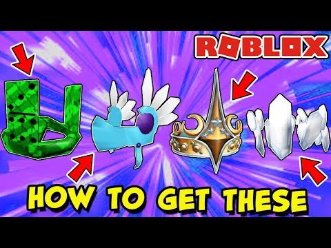 HOW TO GET THESE ITEMS (Roblox) - Ice Valkyrie, Viridian Domino Crown & More [BLACK FRIDAY SALE?]