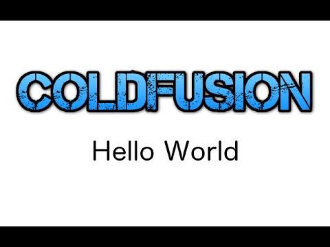 ColdFusion - Hello World - [1]
