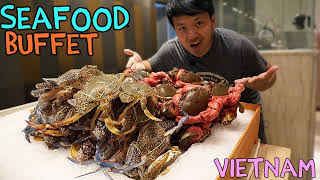 BEST All You Can Eat SEAFOOD Buffet in Saigon VIETNAM! thumbnail