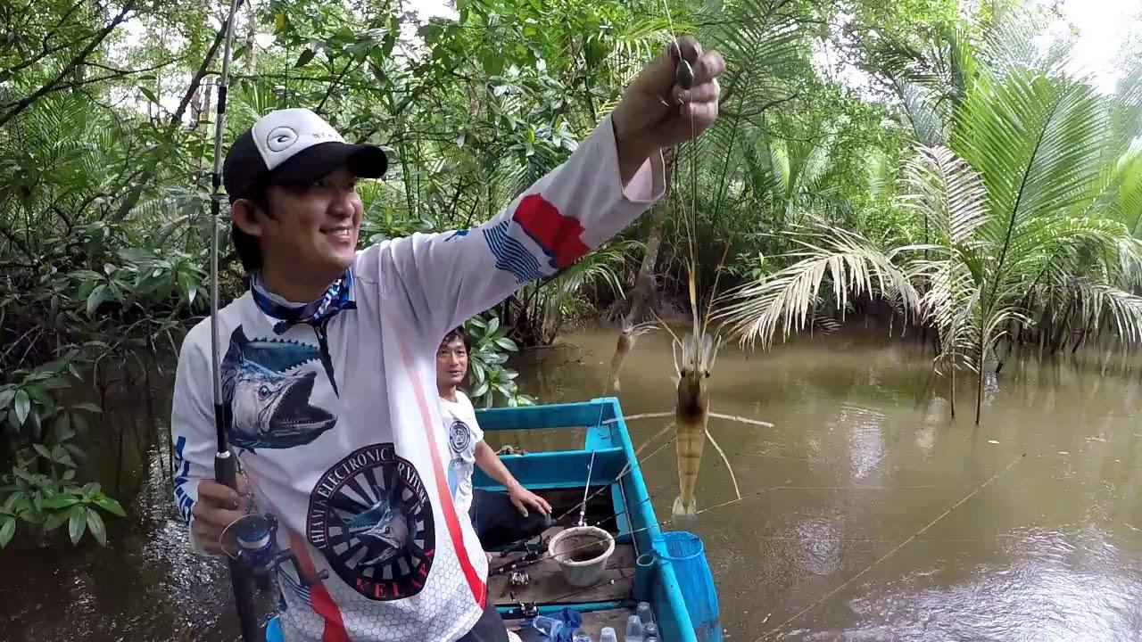 Spot Mancing Udang Galah Di Tangerang