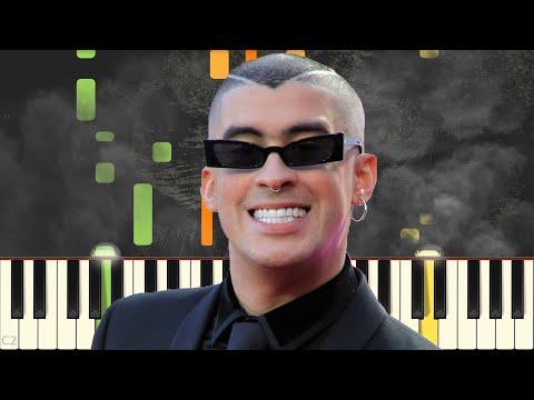Ignorantes – Bad Bunny x Sech – Piano – Synthesia
