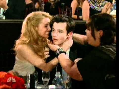 Thumbnail: Golden Globes 2011: Chris Colfer (Glee) wins for best performance by an actor in a supporting role