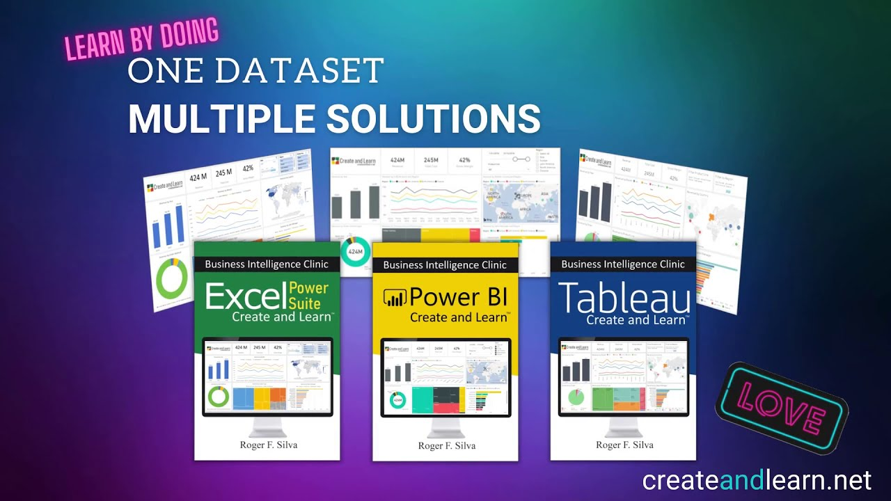 Business Intelligence Clinic – Power BI , Excel , and Tableau
